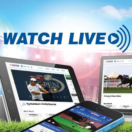watch live streaming betfred