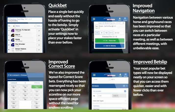 New mobile sportsbook Betfred