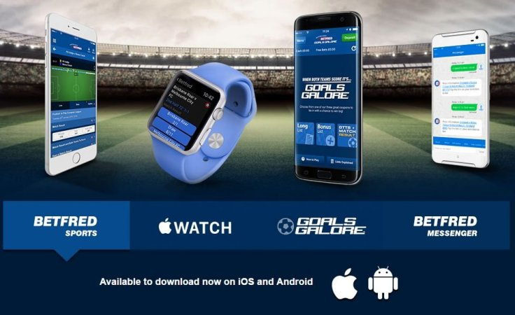Betfred Mobile Apps: sports, casino, bingo and more